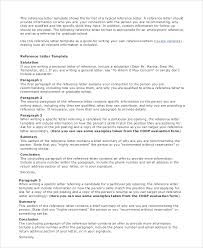 Sample Employment Reference Letter 7 Documents In Pdf Word