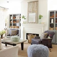 add gray or blue to your white decorating