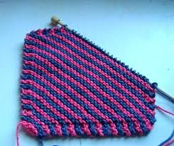 Easy Knit Dishcloth Pattern Delectable Easy Knitted Dish Cloths Free Knitting Pattern Leafy Washcloth Easy