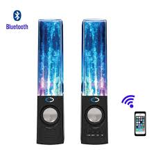 Bluetooth Light Show Fountain Speakers 2019 Creative Suanti Water Dancing Stereo Bluetooth Speaker Music Fountain Speaker Tf Card Support Led Light Show Water Hifi Speaker From Lisai186186