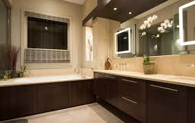 be creative when designing your kitchen and your bathroom using diffe heights is an affordable way to create that custom kitchen or bathroom you are