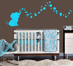 boys elephant nursery bedding set