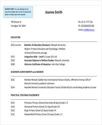 Education Resume Awesome 28 Education Resume Templates In PDF Free Premium Templates