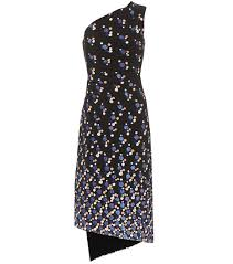 Peter Pilotto Size Chart Printed One Shoulder Cady Dress
