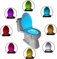 Toilet Bowl Light Uk The Original Toilet Bowl Night Light Gadget Funny Led Motion Sensor Presents For Seat Novelty Bathroom Accessory Gift Cool Fun Unique Christmas Gifts