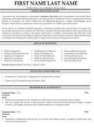 Military Resume Unique Top Military Resume Templates Samples