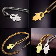 u7 jewish magen star of david necklace men women bat mitzvah gift israel judaica hebrew