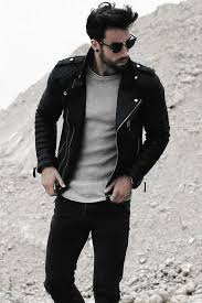 how to wear a leather jacket mens leather jacket outfits style