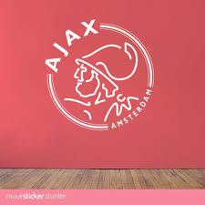 Ajax Amsterdam Logo Muursticker Al Vanaf 995 Kies Je Eigen