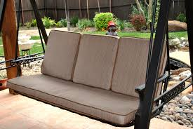 Decor of Patio Swing Cushions Lowes Garden Treasures North Haven