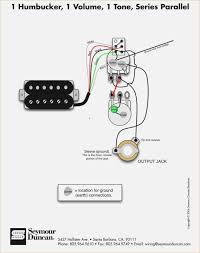 guitar wiring diagrams 1 pickup davehaynes me 1 humbucker 1 volume 1 tone series parallel 50 s wiring