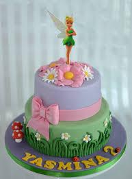 10 Tinkerbell Birthday Cakes For Girls Photo Tinkerbell Cake 1