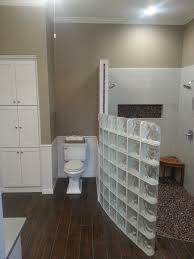 glass block furniture. Inspiring Unique Bathroom Divider Design By Glass Block Arrangements Ideas Furniture
