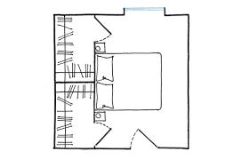 Disegno Bagno In Camera : Casafacile la cabina armadio progetti a seconda della tua camera