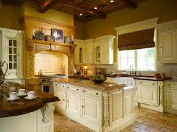 Classic Yet Pretty Cream Colored Kitchen Cabinets Colors For Your