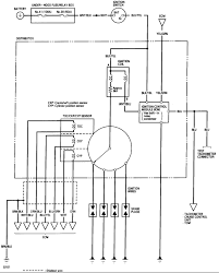 faq obd0 obd1 distributor wiring honda tech this is a gsr distributor wire diagram