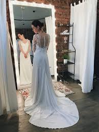Romance Couture Size Chart Satin Wedding Dress Long Sleeve Wedding Dress Made To Measure Wedding Dress Simple Wedding Dress Romantic Open Back Flower