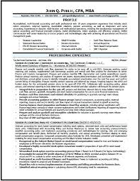 Accounting Resume Examples Extraordinary Resume Examples For Accounting Letsdeliverco