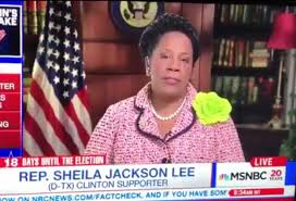 "dem congressw sheila jackson lee denounces email leaks dem congressw sheila jackson lee denounces "" "" email leaks"