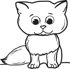 Small Picture Cute Cat And Dog Coloring Pages Printable Coloring Pages