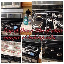 How To Clean Black Appliances How To Clean Black Range Stove Top Mix 1tsp Of Dawn And 2 Tbsp Of