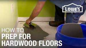 how to prep suloor for hardwood
