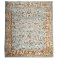 oriental rugs sky blue rugs with floor persian rug ziegler carpet design for