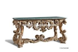 hall console table white. Nice Hand Carved Living Room Console Table, Antique Wooden Hall White Painted Table L