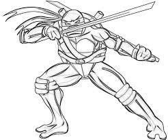 Pagine Da Colorare Con Le Tartarughe Ninja Stampa Gratis