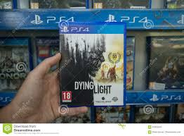 Dying Light Playstation 4 Store Dying Light Editorial Stock Image Image Of Controller