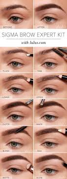 3 runway ready long power brow look