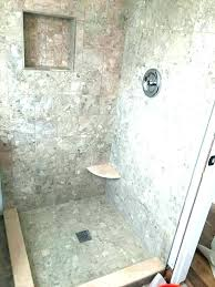 astonishing how to build a tile shower pan mosaic floor building diy clean custom tiled base