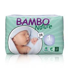 Bambo <b>Nature</b> Nappies Size <b>1</b> / Mini (28 <b>pcs</b>)