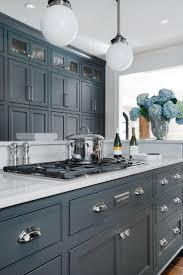 Blue Gray Cabinet Colors