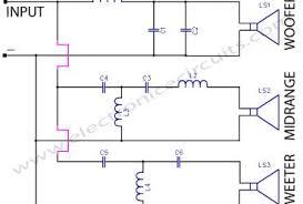 4 way crossover circuit diagram images way crossover speaker speaker crossover work on two way wiring diagram