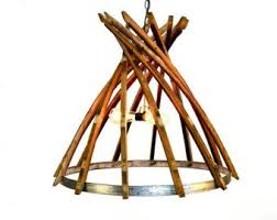 wine barrel lighting. craftsman dobla wine barrel chandelier by winecountrycraftsman lighting