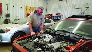 richard preston of fargo owner of 7th avenue auto salvage purchases vehicles in need of repair fi them and then donates them to the ywca c clay