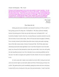 002 Essay Example Story Of My Life For Students Sca Paper