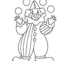 Pennywise The Clown Coloring Pages Printable Free Scary Circus For