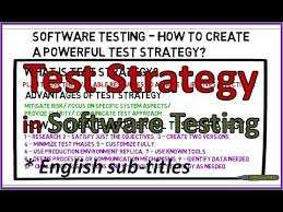 Tips How To Write Test Strategy Software And Testing Training