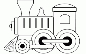 These train coloring pages to print will surely make things easier for both of you. Toy Train Printable Images Coloringpageskid Com Train Coloring Pages Train Clipart Train Crafts