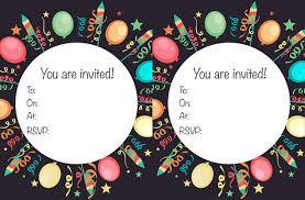 Birthday Invitations Printable Free Printable Childrens Birthday Party Invitations
