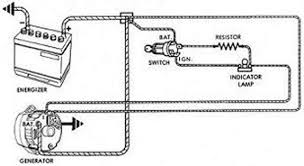 wiring diagram for early corvair conversion from generatoir to attachments