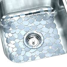 sink mats with drain hole kitchen sink mats and with off center drain hole extra large