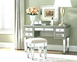 mirrored office furniture. Desk With Mirror Mirrored Vanity Design Throughout Ideas Convex For Office Furniture D