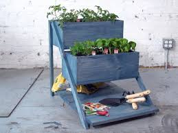 how to make a tiered planter box diy