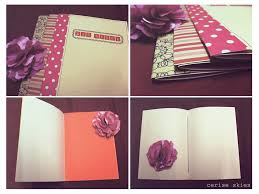DIY School Project Book Covers