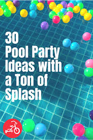This summer party invitation features the phrase summer bash in a pink and green bold text that can be changed to anything you'd like. 31 Ideas To Help You Throw An Epic Pool Party