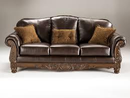 old world living room furniture. North Shore Old World Dark Brown Wood Leather Sofa Living Rooms Elegant Room Set Furniture