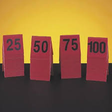 Item Not Available Cal Mil 226 1 Table Tent Numbers